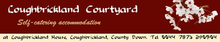 Self-Catering Four Star Accommodation in County Down: Loughbrickland Courtyard